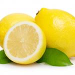 le citron diminue l'apparition des boutons et poils incarnés