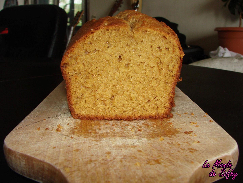 Cake aux spéculoos à la pâte de spéculoos maison