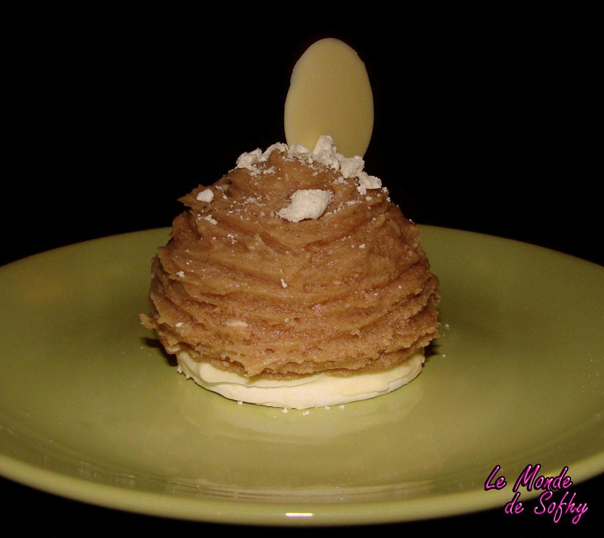 La Recette du Mont Blanc à la crème de marrons qui vous rendra fous