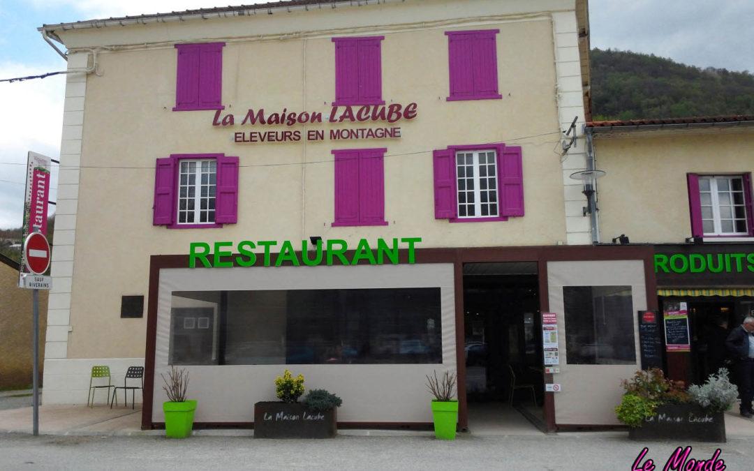 Restaurant : La Maison Lacube, Les Cabannes (Ariège)