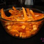 Frites de patate ddouce