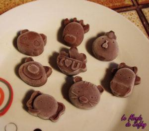 Bonbons glacés au chocolat