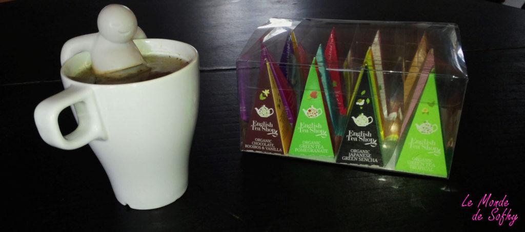 Cocooning avec English tea shop