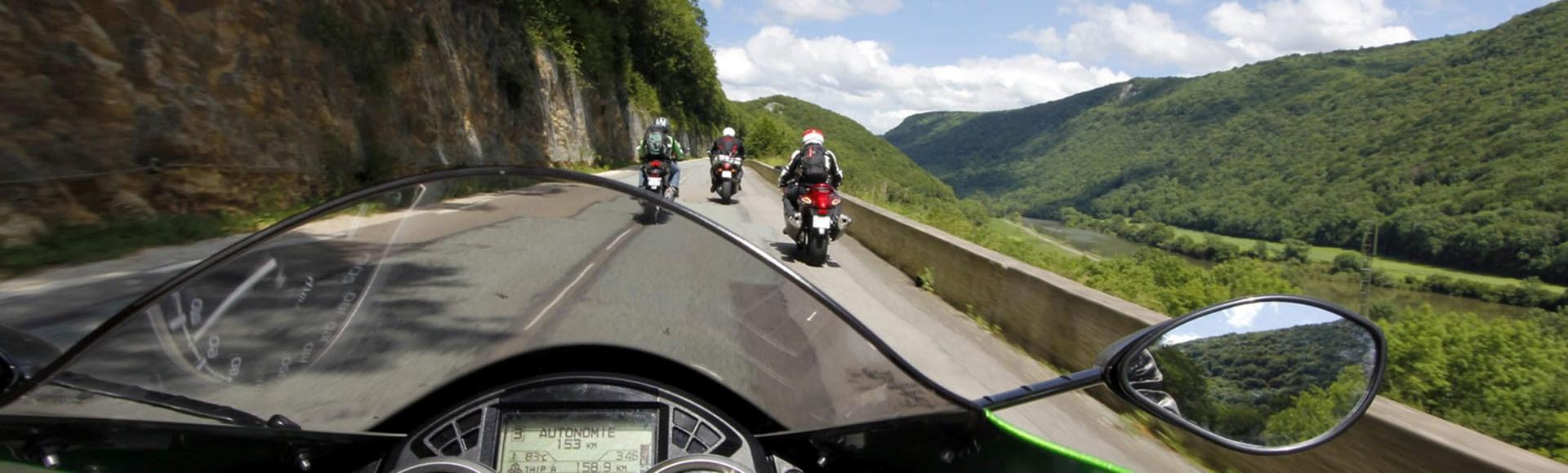 Bienvenue dans le gang des motards !