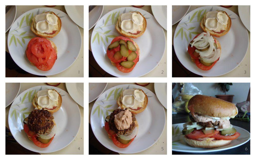 montage burger