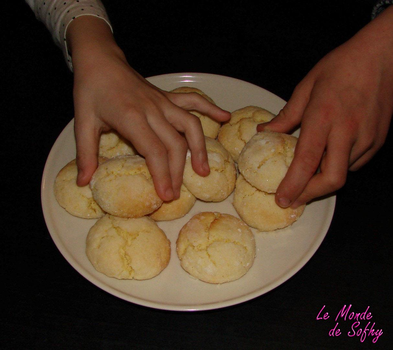 Craquelés ou Petits gâteaux au citron