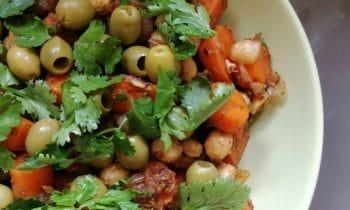 Salade de carottes marocaine, une recette végétarienne et complète !