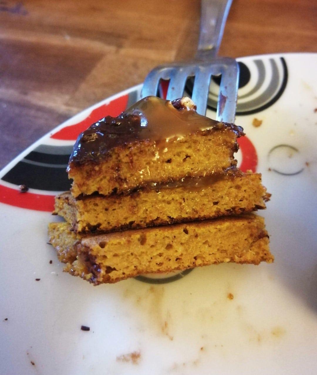 Recette de pancakes sains au potimarron